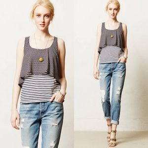 Cute layered tank from Anthropologie!